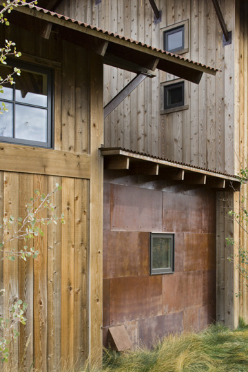 5 exterior materials and finishes for Metal wood siding