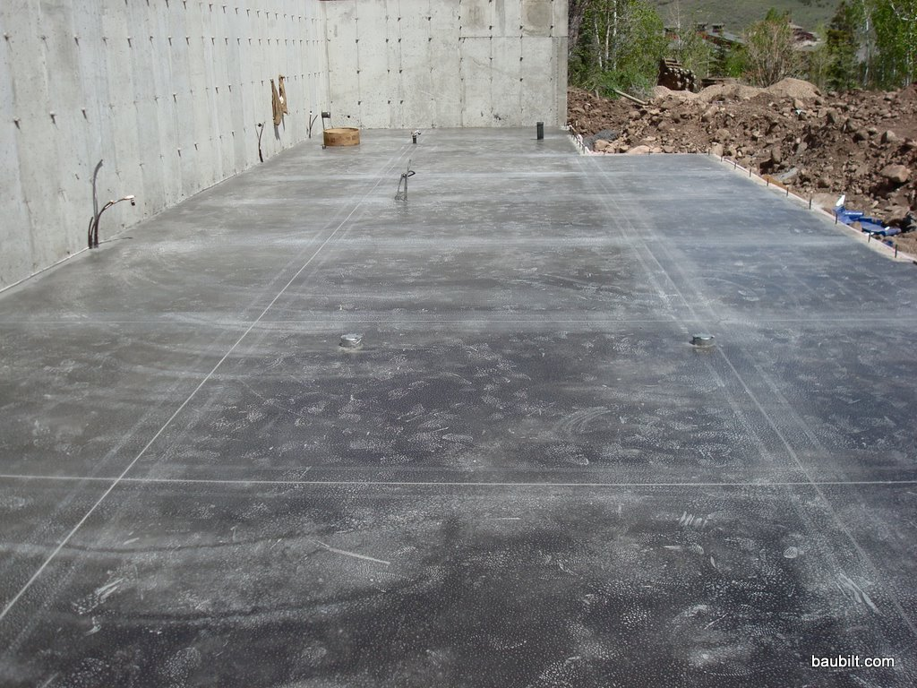 Tinted Concrete