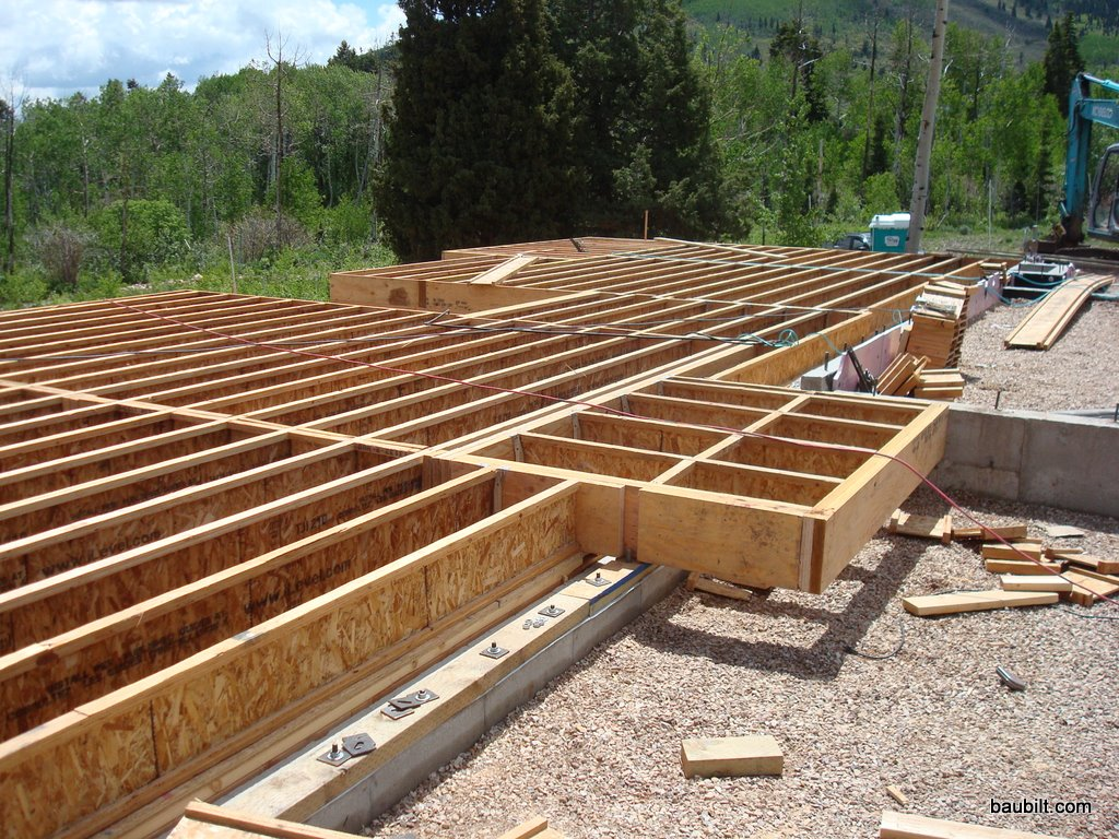 3 framing for Wood floor joist spacing