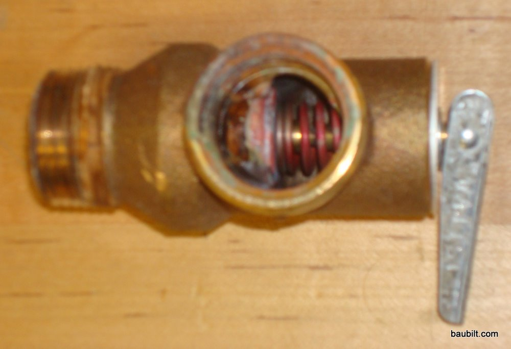 Replacing A Pressure Relief Or T Amp P Valve