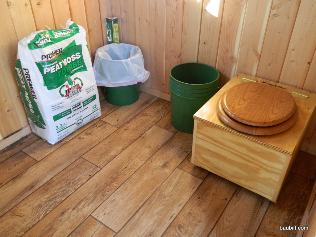 Composting Toilets For Highly Seasonal Use