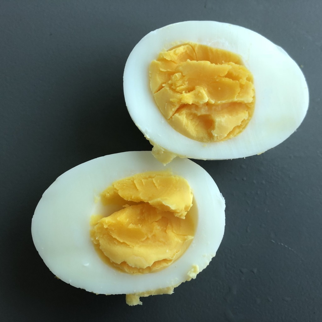 perfect hard-boiled egg